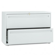 700 Series Two-Drawer Lateral File, 42w X 19-1/4d, Light Gray