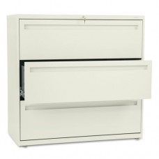 700 Series Three-Drawer Lateral File, 42w X 19-1/4d, Putty