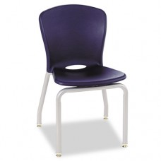 Accomplish Series Chairs, 19-7/8 X 19-3/4 X 30-1/2, Navy, 4/carton