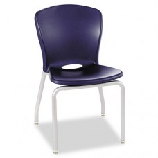 Accomplish Series Chairs, 21-3/4 X 22-1/4 X 33-5/8, Navy, 4/carton