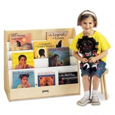 Pick-A-Book Stand, 30w X 16-1/2d X 27-1/2h, Birch