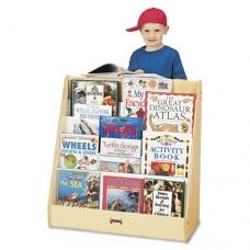 Pick-A-Book Stand Wish Flush Back, 30w X 13-1/2d X 27-1/2h, Birch