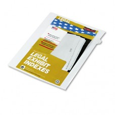 "90000 Series Legal Exhibit Index Dividers, Side Tab, Printed ""5"", 25/pack"