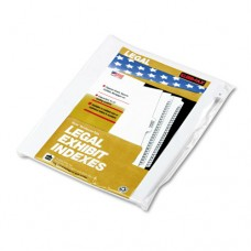 "90000 Series Alpha Side Tab Legal Index Divider, Preprinted ""b"", 25/pack"