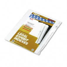 "90000 Series Alpha Side Tab Legal Index Divider, Preprinted ""c"", 25/pack"