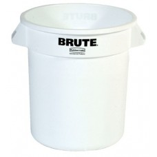 10GAL BRUTE CONTAINER W/O LID WHITE