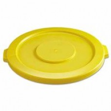 32 Gal. Yellow Brute Round Container Lid|Brute® Round Container Lids