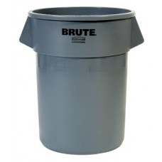 32 GAL BRUTE CONTAINER RED W/O LID