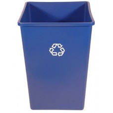35 GALLON SQUARE RECYCLING CONTAINER