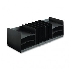 Adjustable Organizer, 11 Sections, Steel, 30 X 11 X 8 1/8, Black