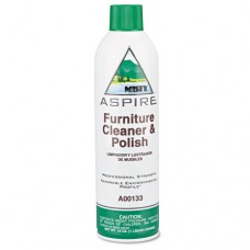 Aspire Furniture Cleaner & Polish, Lemon Scent, 16oz Aerosol