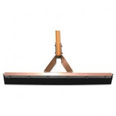 Straight Squeegee with Steel Bracket Handle